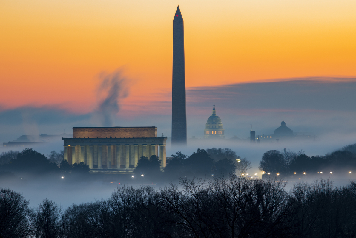 Andrew Burns, Foggy DC Sunrise