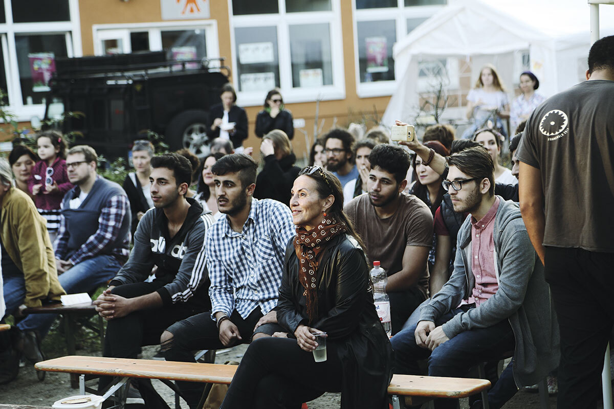 Audience at the [wa:|wa:] Festival 2018