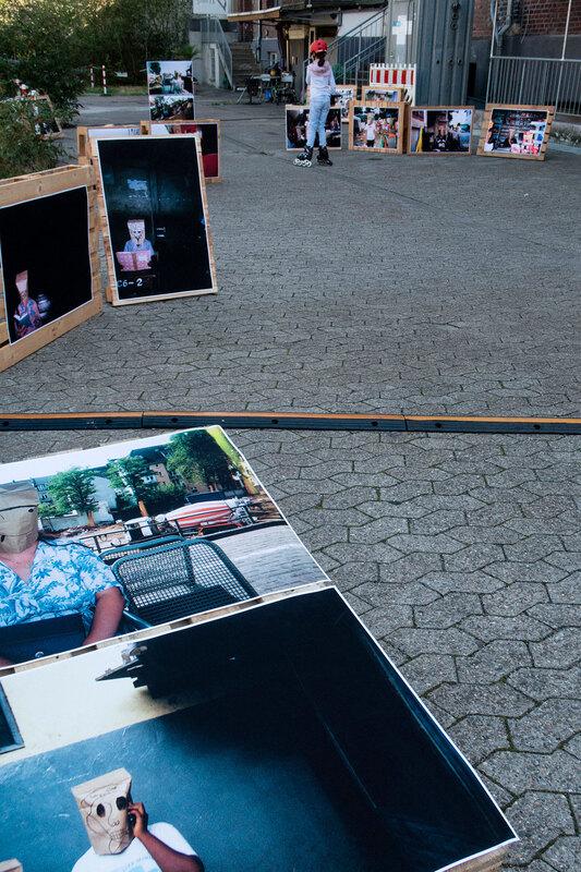 Photo-Exhibition, Collaborative Project between Germany and Ghana, [wa: wa:] Festival 2018