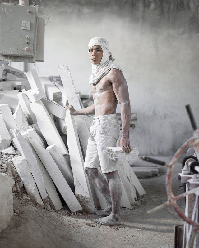 Wawi Navarroza - Perseus, Portrait of a Young Marble Worker, 3rd Prize, Open Category,  2018