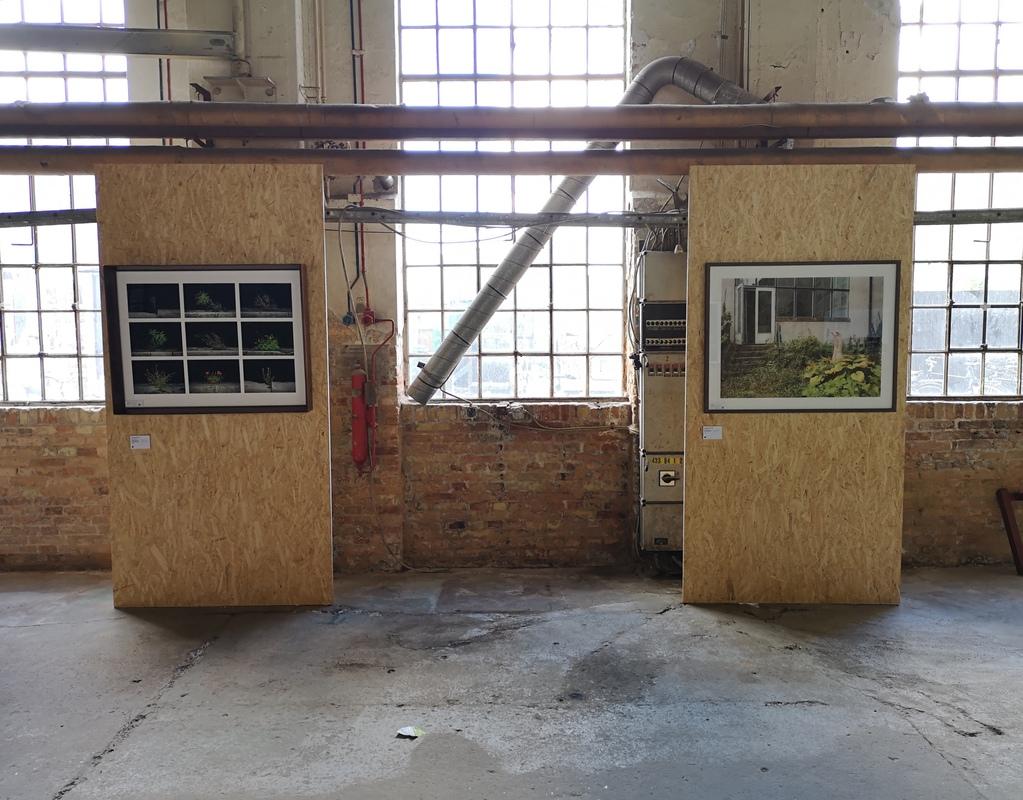 Anna Cherednikova and Lars Daniel at The Censored Exhibition 2019