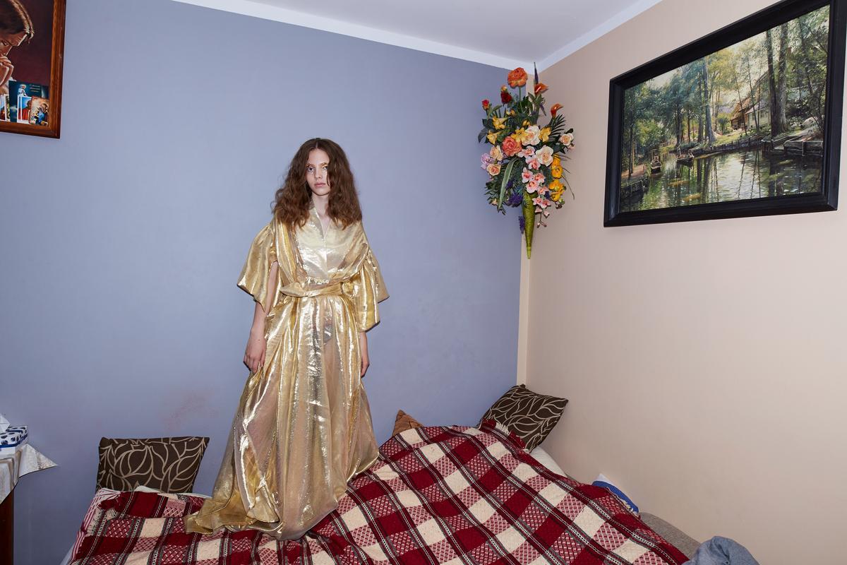 Magda 14 lat, Warszawa from the series Waiting Room, 2019
