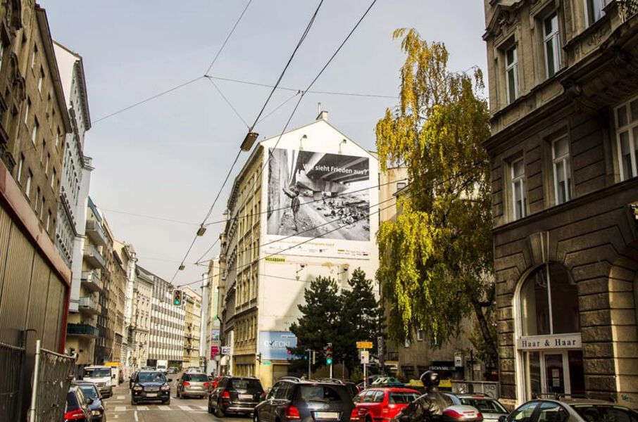 Large format billboards - Vienna Austria